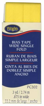 Wide Single Fold Bias Tape Canary- Wrights 117202086