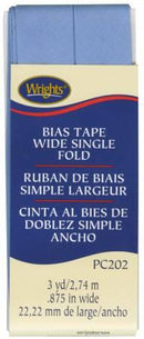 Wide Single Fold Bias Tape Copen- Wrights 117202040