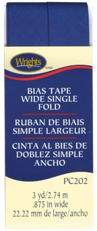 Wide Single Fold Bias Tape Yale-  117202078