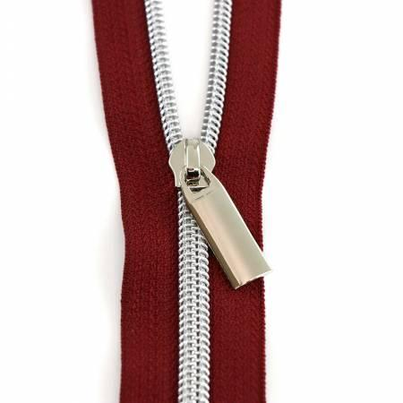 Zippers By The Yard Burg Tape Nickel Teeth #5 3yd pk