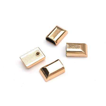 Zipper Stopper Gold4pcs for zipper/cord ends