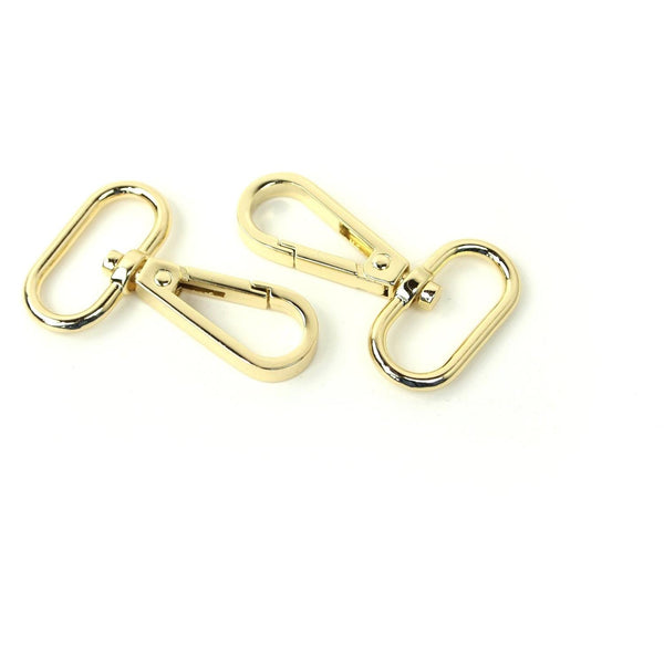 "1"" Swivel Hooks 2/pkg-Gold STS139G"