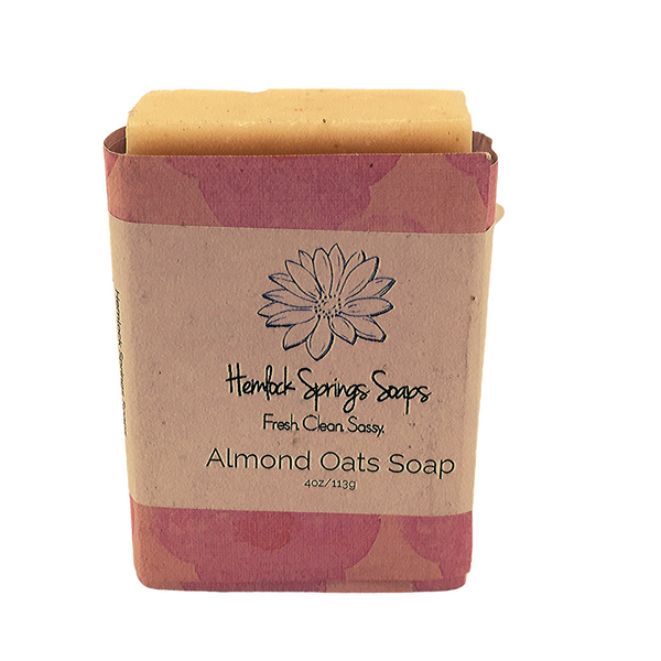GOATS MILK SOAP (ALMOND OATS)
