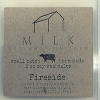 3 Ounce Fireside Scented Soy Wax Melt