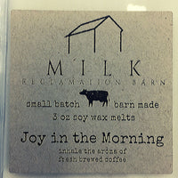 3 Ounce Joy In The Morning Scented Soy Wax Melt