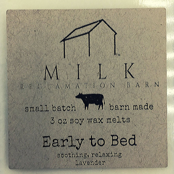 3 Ounce Early To Bed Soy Wax Melt