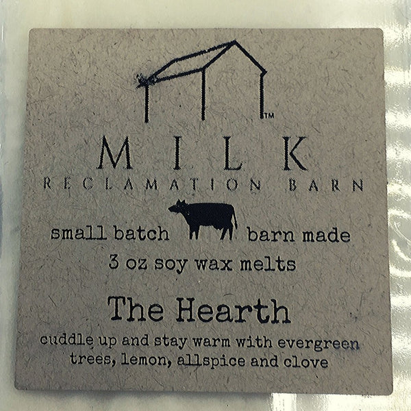 3 Ounce The Hearth Scented Soy Wax Melt