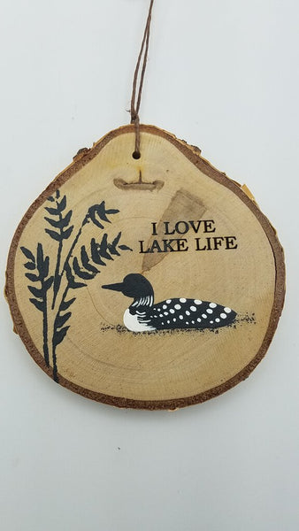 LOON LAKE LIFE MD ORNAMENT