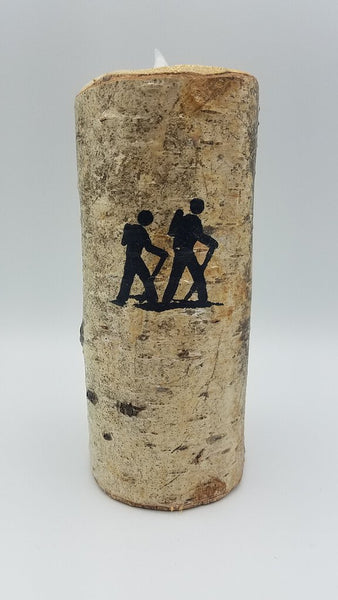 "6"" HIKER BIRCH CANDLE"