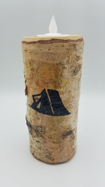 "6"" Tent Birch Candle"