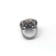1 PC Beautiful Rosecut Diamond Designer Ring - 925 Sterling Silver- Polki Ring Size-8 Rd299