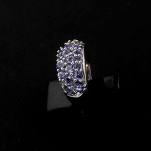 1 Pc Tanzanite Ring,  925 Sterling Silver Ring, Tanzanite Vintage Ring, Antique Jewelry RD466