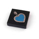 1 Pc Pave Diamond Bakelite Heart Pendant Over 925 Sterling SIlver - Enamel Pendant 25mmx24mm RRPD042