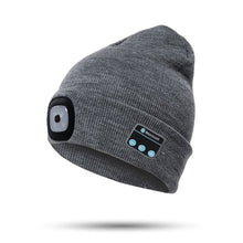 Load image into Gallery viewer, Bluetooth LED Beanie