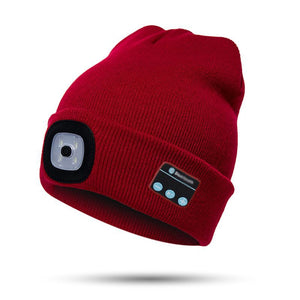 Bluetooth LED Beanie