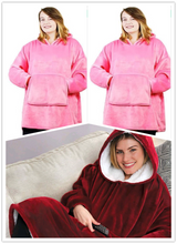 Load image into Gallery viewer, Plush Blanket Hoodie