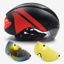 Load image into Gallery viewer, Bicycle Helmet with Visor