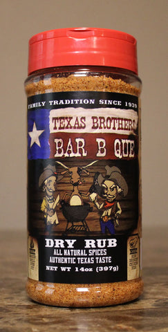 14 oz Barbecue Dry Rub Spice Bottle
