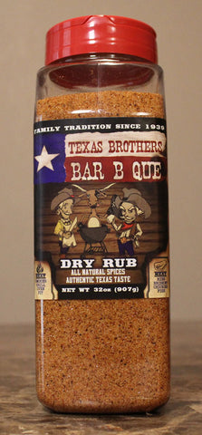 32 oz Barbecue Dry Rub