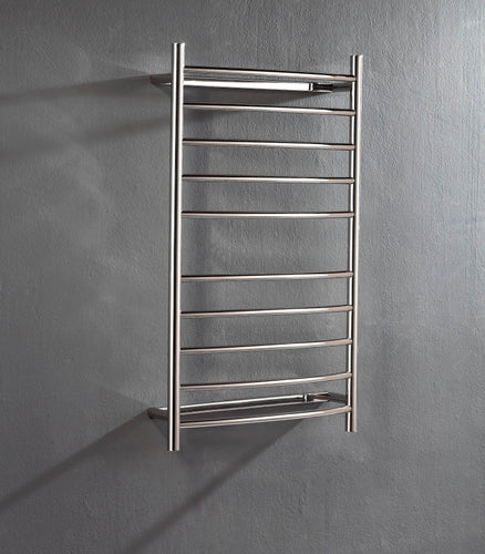 Heated Towel Rail. Curved 10 Bars 1000 mm x 600 mm