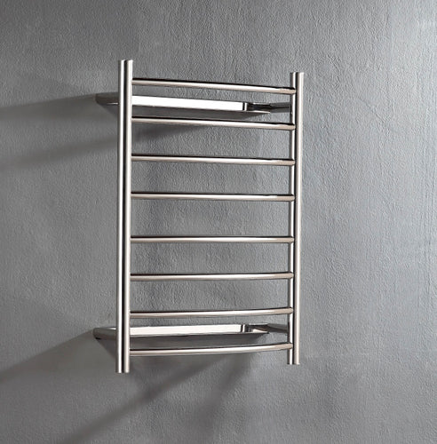 UnHeated Towel Rail. Curved 8 Bars 700 mm x 530 mm
