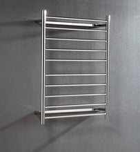Load image into Gallery viewer, UnHeated Towel Rail. Flat Round 10 Bars 900 mm x 700 mm