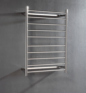 UnHeated Towel Rail. Flat Round 10 Bars 900 mm x 700 mm