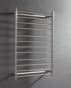 UnHeated Towel Rail. Flat Round 12 Bars 1150 mm x 800 mm