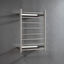 Load image into Gallery viewer, UnHeated Towel Rail. Flat Round 8 Bars 700 mm x 530 mm