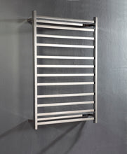 Load image into Gallery viewer, UnHeated Towel Rail. Flat Square 12 Bars 1150 mm x 800 mm