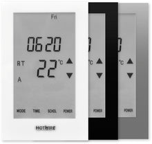 Load image into Gallery viewer, Thermostat Colour Options for the Hotwire Floor Heating Range