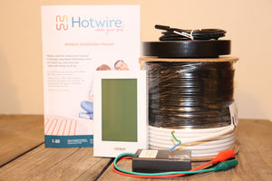 Under Tile Heating Kit 28.6 - 35.7  m2 INC THERMOSTAT