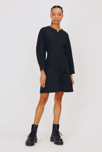 Load image into Gallery viewer, Freya Dress in Black