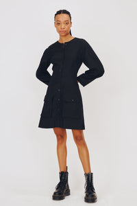 Freya Dress in Black