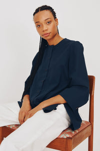 Bethan Shirt in Navy