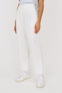 Ford Trouser in White