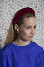 Load image into Gallery viewer, Burgundy Velvet Headband