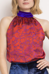 Reversible Silk Sophie Top
