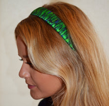 Load image into Gallery viewer, Emerald Silk Hairband