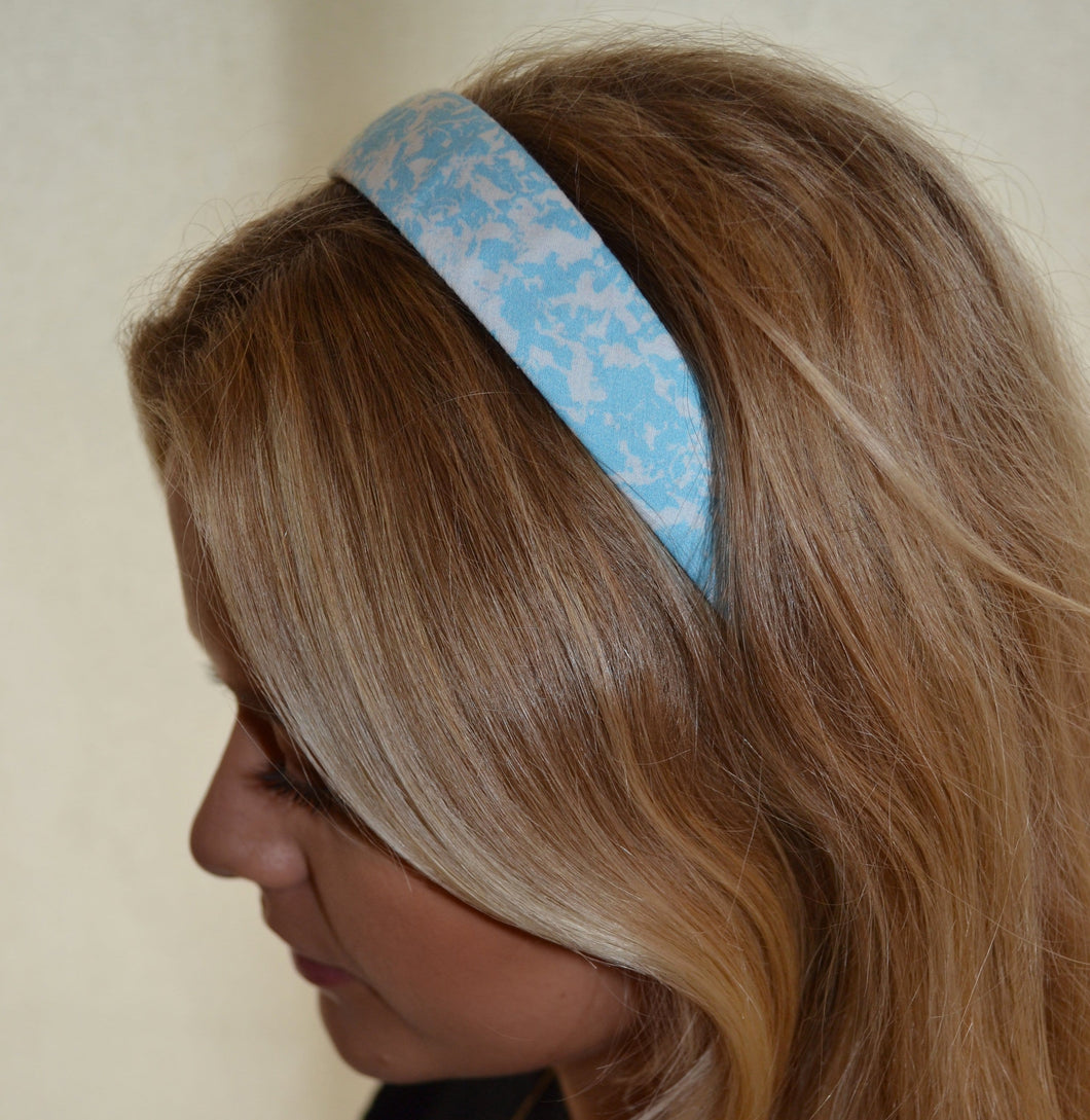 Forget Me Not Cotton Headband