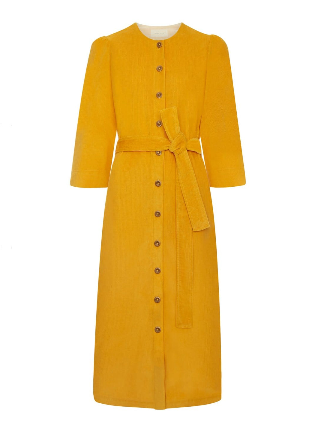 Rhianon Dress Mustard Yellow