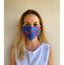 Load image into Gallery viewer, Mandevilla Vine Cotton Mask