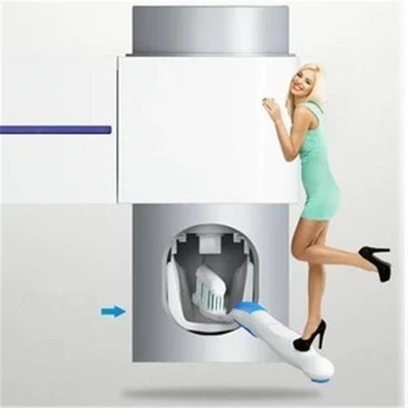 【50%OFF-Only For Today】3-in-1 UV Toothbrush Sanitizer