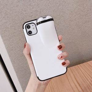 🔥(Last 2 Days Promotion - 50% OFF) 2 in1 AirPods IPhone Case