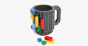 Super Cool Original Build on Brick Mug - Ideal Cup for Juice, Tea, Coffee & Water - Best Novelty Gift!