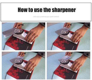 Electric Knife Sharpener Machine For Kitchen Knives/Scissor ( BUY 2 FREE SHIPPING)