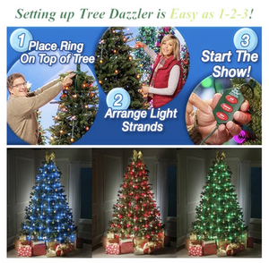 (Black Friday Promotion)-Christmas Tree LED String Lights