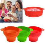 60%OFF-Silicone Popcorn Bucket Bowl Microwave Eco-friendly Popcorn Bucket Bowl For Food Snacks