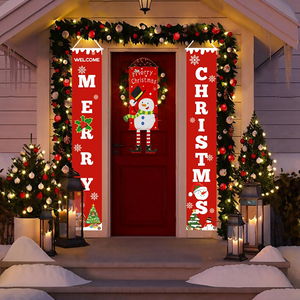 Christmas Curtain Couplet (50% Off Limited Time Sale)