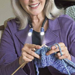 Knitting Crocheting Lamp - Your go-to tool while knitting!